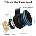 Gaming Headset for PS4,Stereo Surround Sound Gaming Headset with Microphone,3.5mm jack Headphones with LED Light Noise…