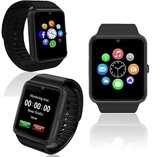 inDigi Unlocked! GSM Bluetooth Smart Watch Phone Wireless Sim Card MP3 MP4 Camera Video