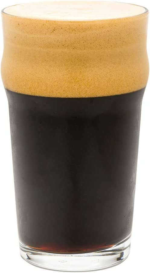 3 1//2 x 3 1//2 x 5 3//4-6 count box 16 oz Craft Beer Pint Glass Restaurantware, Flared Model: RWG0105
