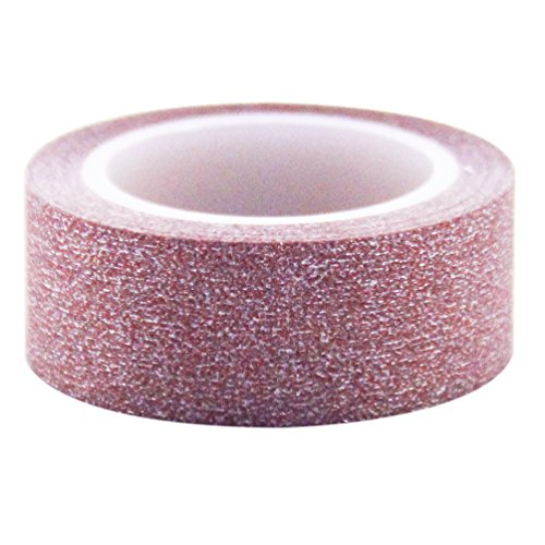 Lychee Craft Washi Tape Glitter Red Tapes Sparkle Flake Viny