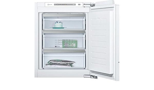 Neff GI1113F30 Integrado Vertical 72L A++ Blanco - Congelador ...