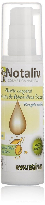 Notaliv Cosmética Natural Aceite corporal almendras dulces - 60 ml 200-014