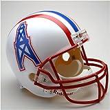 Houston Oilers 1981-96 Throwback Riddell Deluxe Replica Helmet