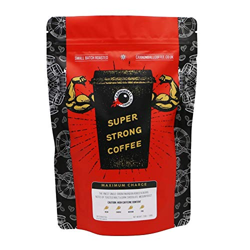 Maximum Charge Strong Coffee   Lab Certified World
