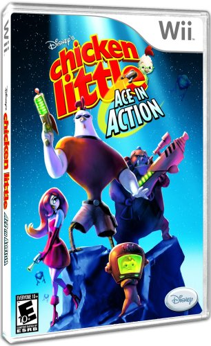 Disney's Chicken Little: Ace in Action - Nintendo Wii