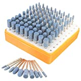 Tools - 100Pcs Universal Rotary Assorted Abrasive Stone Accessory Tool Kit For Dremel