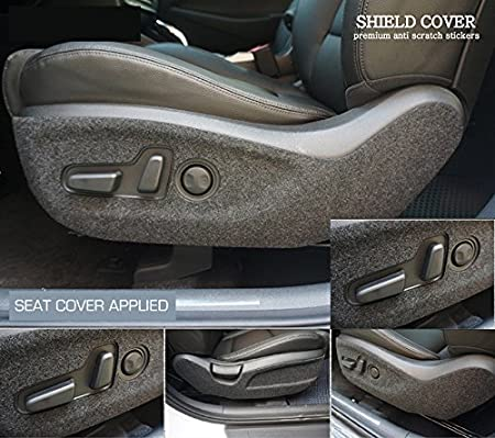 Trunk Step Trunk Cover Glove Box Seat Side Fit Hyundai Tucson 2016 2017 2018 LIGHTKOREA Anti Scratch Protector Shield Sticker Cover Door Entry Glove Box Cover