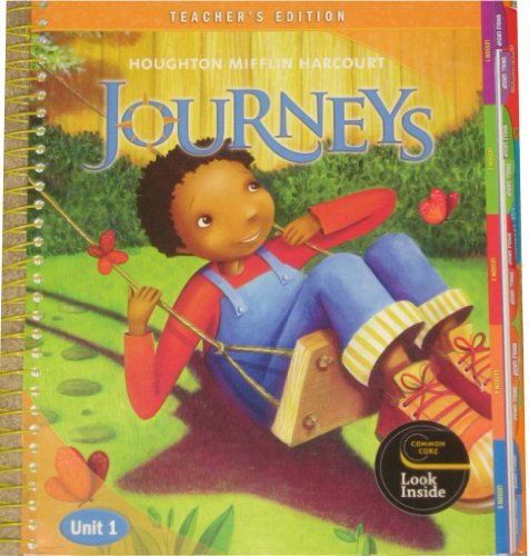 Houghton Mifflin Harcourt Journeys Reading Adventure, Teacher's Edition,  Unit 1, Grade 2