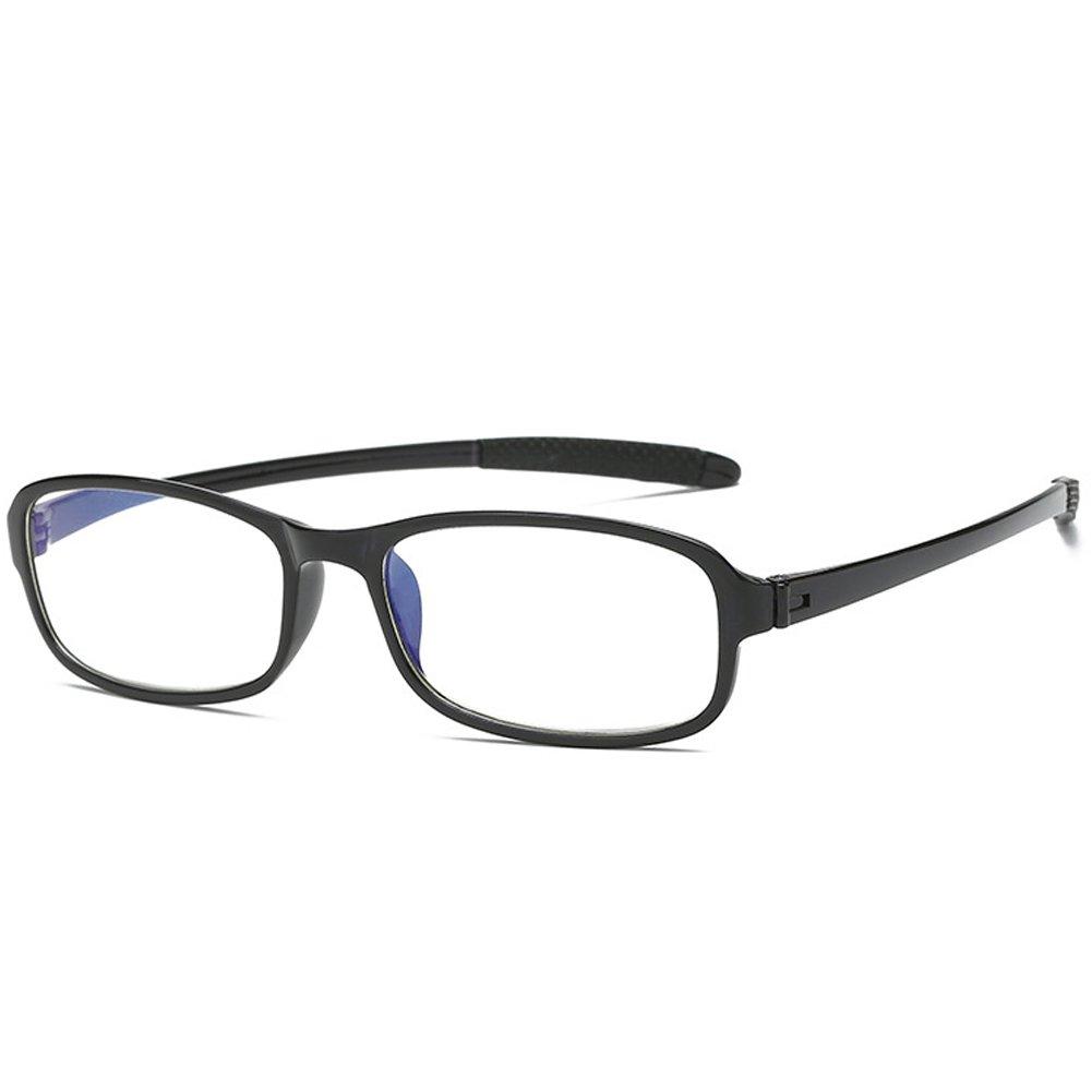 VEVESMUNDO Reading Glasses Anti Bluelight Men Women Flexible Bendable Eyeglasses