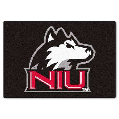 Price comparison product image FANMATS NCAA Northern Illinois University Huskies Nylon Face Starter Rug