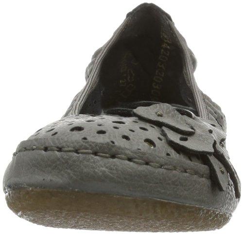 Rieker 41455 Women Closed Toe - Bailarinas para Mujer gris (shark 40)