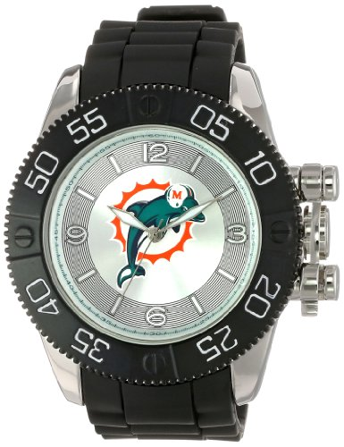 Miami Dolphins Fan Series Watch (Game Time Men's NFL-BEA-MIA