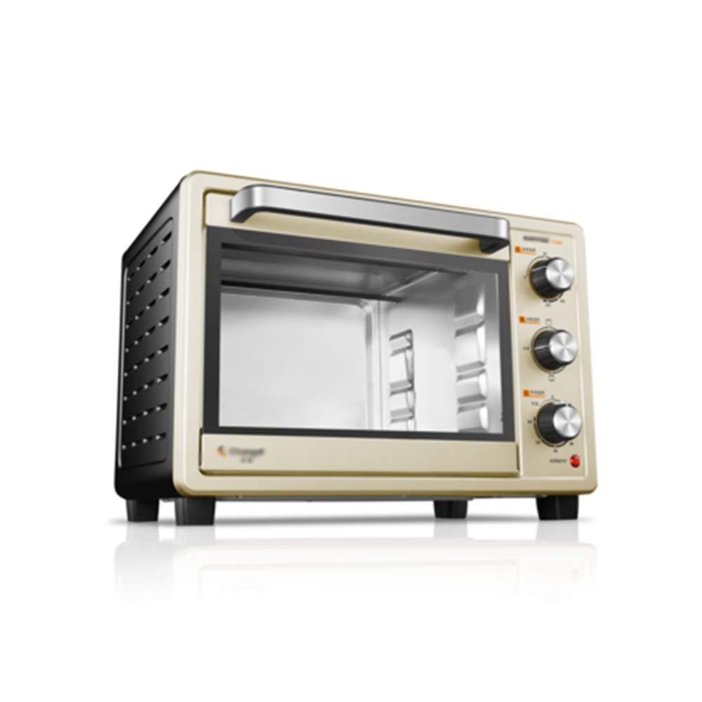 NKDK オーブンホーム25リットルベーキングケーキ多機能自動ミニ小型パン電気オーブン -38 オーブン B07RV9KHKW