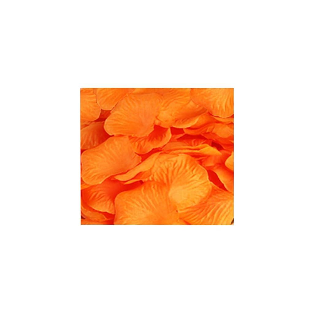 CO-RODE-Wedding-Decoration-Silk-Rose-Petals-Pack-of-2000-Orange