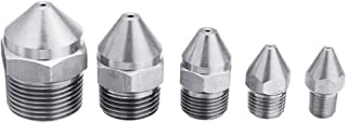 Anddod inch Tooth Stainless Steel Straight Nozzle for 3D Printer Part