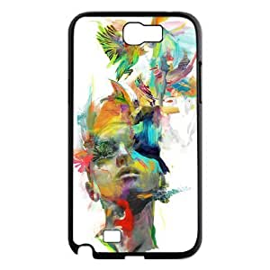 Customized Dual-Protective Case for Samsung Galaxy Note 2 N7100, Dream Theory Cover Case - HL-R653620 wangjiang maoyi