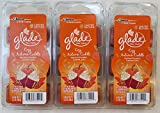 Give even your largest rooms a boost of flameless fragrance with Glade wax melts. Cubes of scented wax melt to release true-to-life fragrance, filling your home with a scent you'll love.      Includes: 3 Packs of Glade Wax Melts with 6 wax melts ...