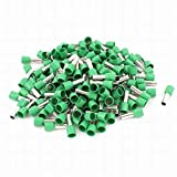 Uptell 160Pcs E1012 Green Tube Insulated Ferrules Terminals for 8AWG Cable