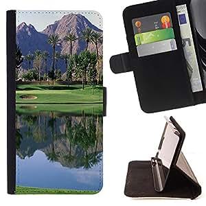Devil Case- Estilo PU billetera de cuero del soporte del tir¨®n [solapa de cierre] Cubierta FOR LG G3 LG-F400 D802 D855 D857 D858 - Golf Ball Sport Tiger