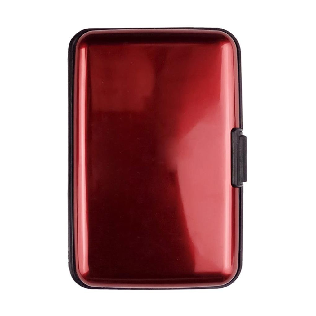 Inkach Mens Card Cases Business ID Credit Card Cases Holder Protector Money Clip Wallet