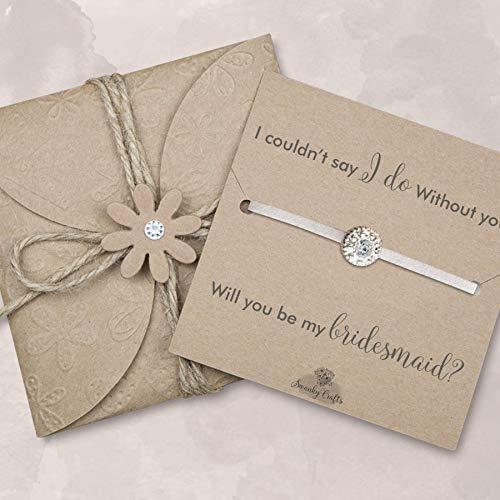 Bridesmaid gifts under 10 dollars, Bridesmaid proposal, Bridesmaids gifts, bridesmaid jewelry ivory friendship bracelets