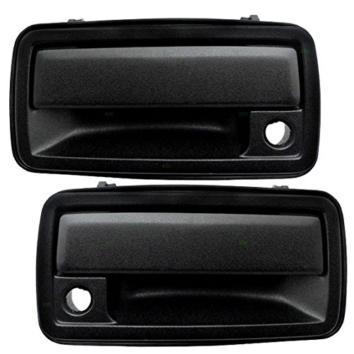 Driver and Passenger Front Outside Door Handles Replacement for Chevrolet GMC Oldsmobile Pickup Truck 15058576 15058575 AutoAndArt