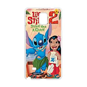 Malcolm Lilo & Stitch Case Cover For samsung galaxy Note4 Case