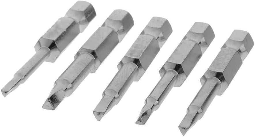 Winomo 50 puntas hexagonales magn/éticas triangulares de cabeza de destornillador