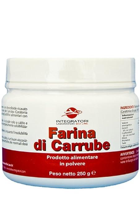 20 opinioni per Farina di semi di carrube in polvere- Barattolo 250 g