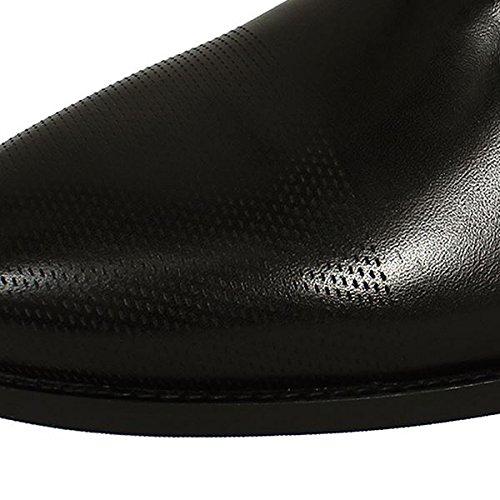 Hugo Boss Pathos Heren Zwart Lederen Schoenen - Zwart, Eu 43