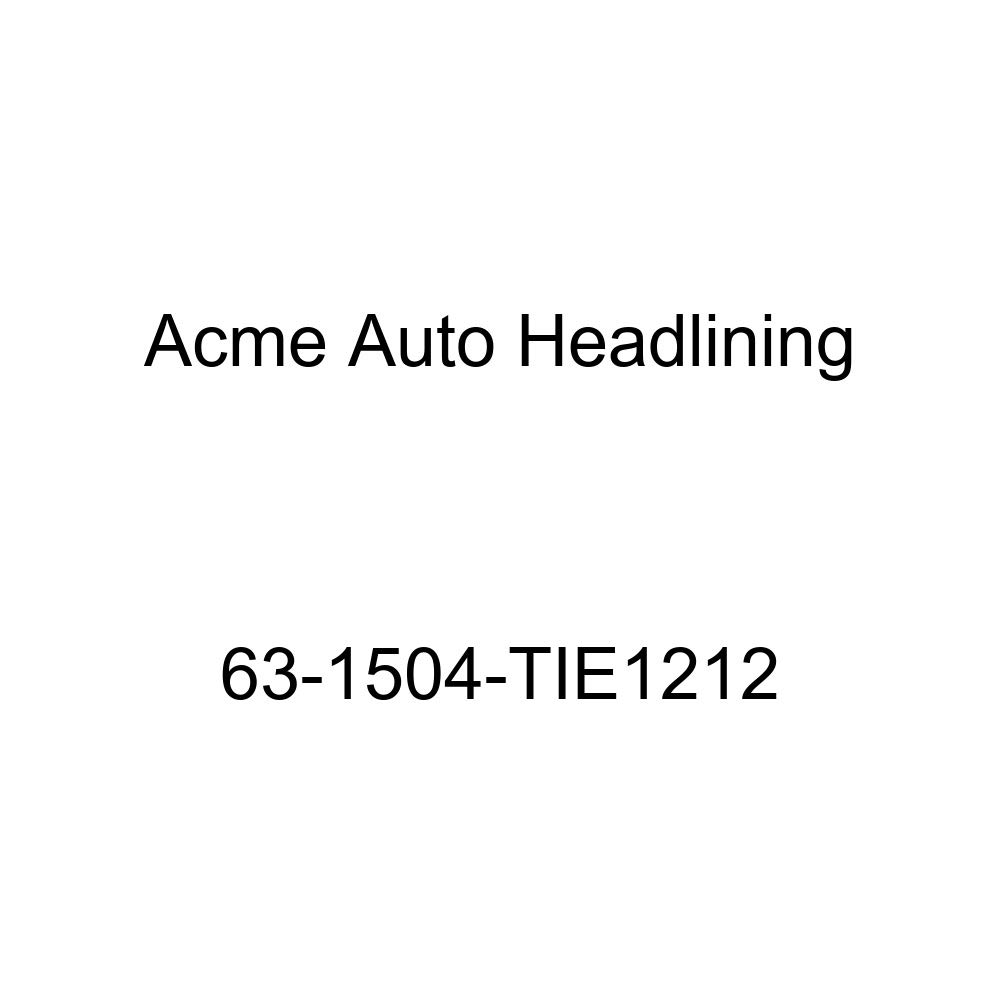 Pontiac Catalina /& Star Chief 2 /& 4 Door Sedan 5 Bow Acme Auto Headlining 63-1504-TIE1212 Dark Blue Replacement Headliner