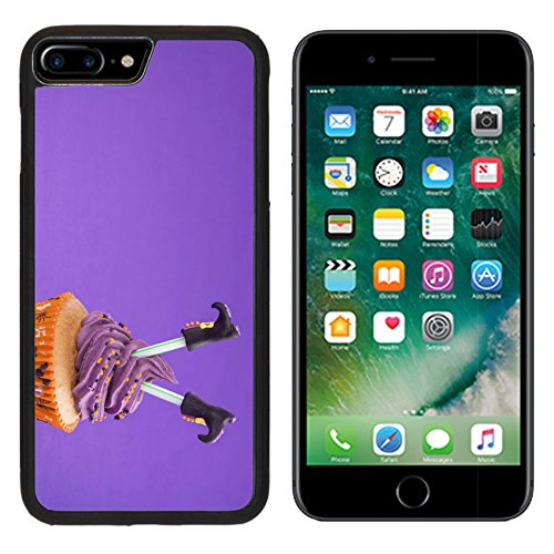 Cupcakes Ideas Decorated Halloween (Luxlady Premium Apple iPhone 7 Plus Aluminum Backplate Bumper Snap Case iPhone7 Plus IMAGE ID: 22167569 Halloween cupcake with witch)
