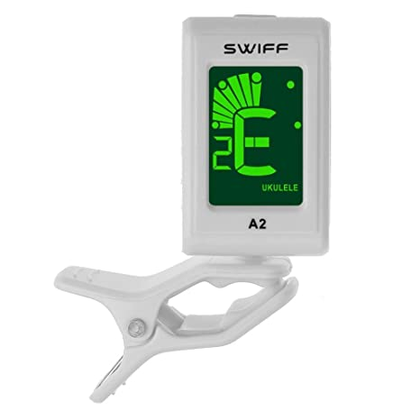 Broadroot 1 afinador eléctrico digital cromático colorido LCD retroiluminación para ukelele, mi (E)