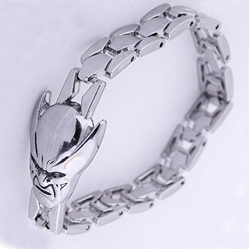Unisex Alloy Punk Bracelet Cartoon Design Wristband 20CM (Thor)