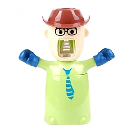 Dibujos animados® LianLe Character exprimidor de pasta de dientes, dispensador de pasta de dientes