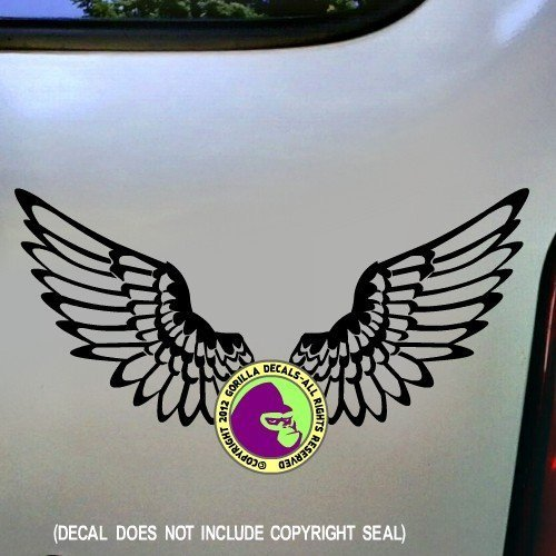 WINGS Vinyl Decal Sticker B (Winery Merlot Red Rock)