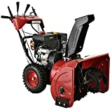 AMICO 26-inch Deluxe 212cc Two-Stage Electric Start Gas Snow Blower Thrower