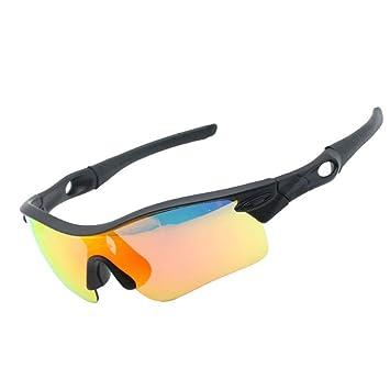 Ailihan Gafas Gafas de Sol polarizadas en Cinco Conjuntos de Lentes situados al Aire Libre Deportes Dama de Pesca montañismo Hombres: Amazon.es: Jardín