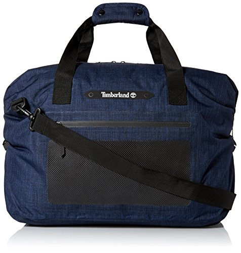 Timberland Men's Baxter Lake Waterproof Duffel Bag, Black Iris
