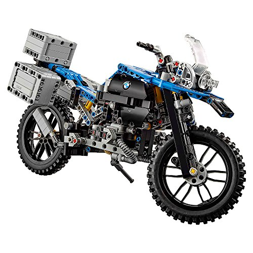 51RJlOUyeYL - LEGO Technic BMW R 1200 GS Adventure 42063 Advanced Building Toy