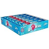 Barras Airheads, frambuesa azul, 0,55 onzas (paquete de 36)