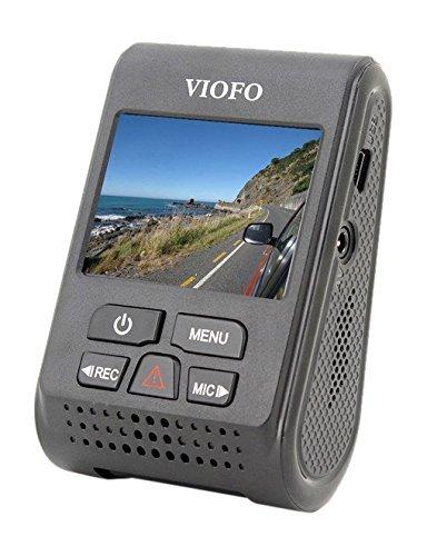 VIOFO A119 Car Dash Cam HD 1440P 2.0 Inch TFT LCD Screen Capacitor Novatek 96660 H.264 2K (without GPS mount)