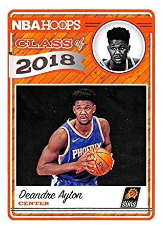 1b15bbddda87 2018-19 NBA Hoops Class of 2018 1 Deandre Ayton Phoenix Suns Official  Trading