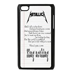 Band King Metallica James Hetfield Hard Plastic phone Case Cove FOR IPod Touch 4 JWH9186873