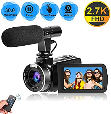 Videocámara Videocamara 2.7K Full HD 30 MP Cámara de Video para ...