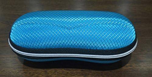 Haodou Sonnenbrille H/ülle Brillenetui Harte Schale Streifen Design Staubdicht Sto/ßfest Tragbar Universal f/ür Herren und Damen(Schwarz Braun Orange Blau)