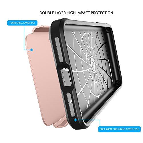 LUVVITT Ultra Armor iPhone 7Plus/iPhone 8plus–Funda con doble capa resistente protección y aire rebote tecnología para Apple Iphone 7Plus (2016)/iPhone 8plus (2017) oro rosa