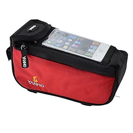 Amazon.com : Tubo DealMux bicicleta Frente bicicleta Bag ...