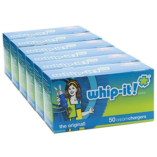 whip-It! Brand: The Original Whipped Cream Chargers (300 Pack) by whip t