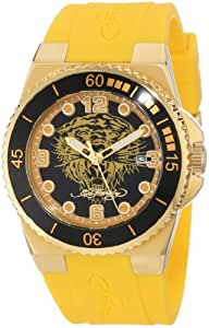 Ed Hardy Women's IM-YTG Immersion Yellow Watch